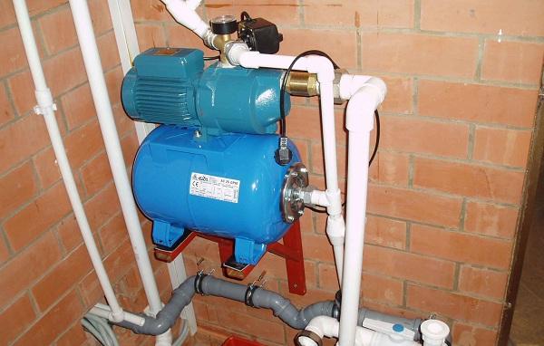 Насос для водопровода в частном доме 2