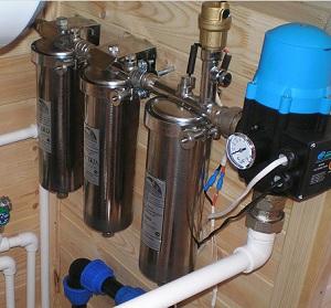 Насос для водопровода в частном доме 1