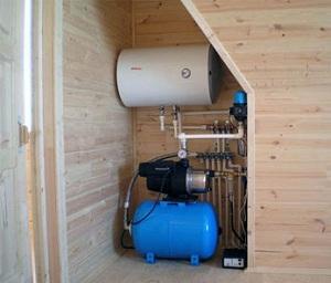 Как провести воду в частный загородный дом - стоимость работ и материалов 1