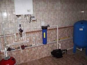 Схема водопровода в частном доме 1