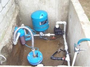 Схема водоснабжения частного дома из индивидуального колодца 1