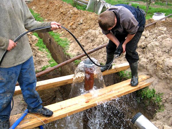 Как провести воду в частный дом из колодца 2