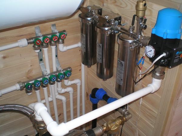 Проект водоснабжения загородного дома 2