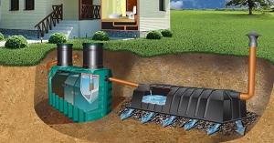 Схема подвода воды в частный дом из скважины и колодца 1