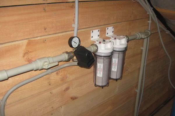 Насос для водопровода в частном доме 5