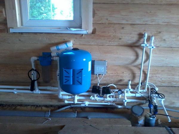 Схема водоснабжения частного дома из индивидуального колодца 3