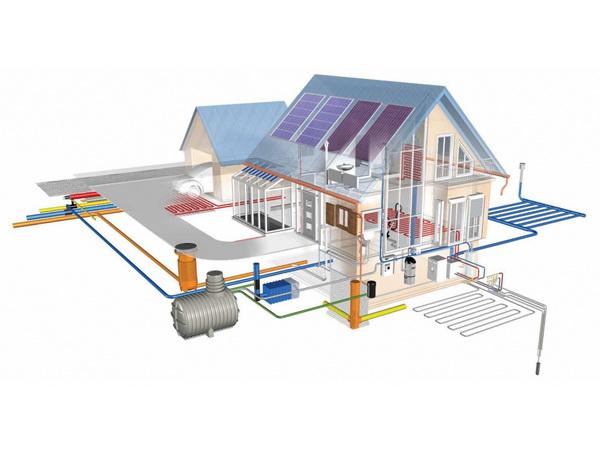 Проект водоснабжения загородного дома 3