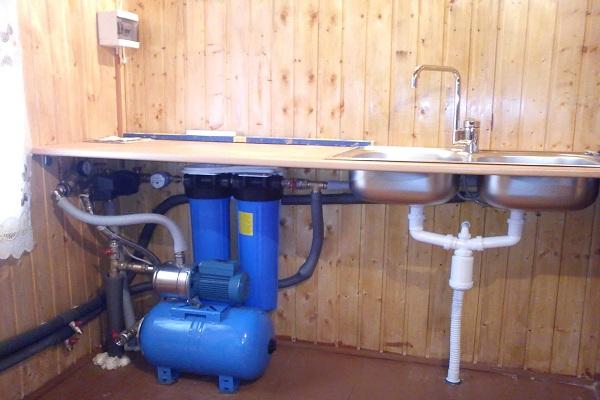Как провести водопровод из колодца в частный дом 4