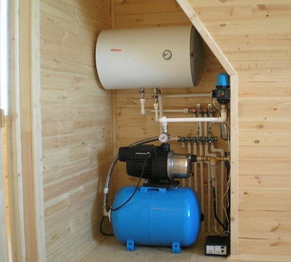 Системы водоснабжения частного загородного дома из скважины 2