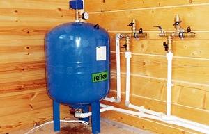 Системы водоснабжения частного загородного дома из скважины 1