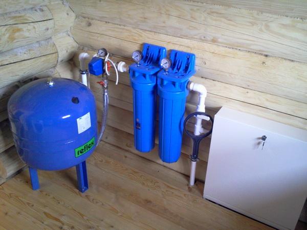 Система водоснабжения дома из колодца 4